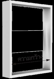 ใบเกล็ด, บานเกล็ด, หน้าต่างบานเกล็ด, การติดตั้งหน้าต่าง, Zimplex