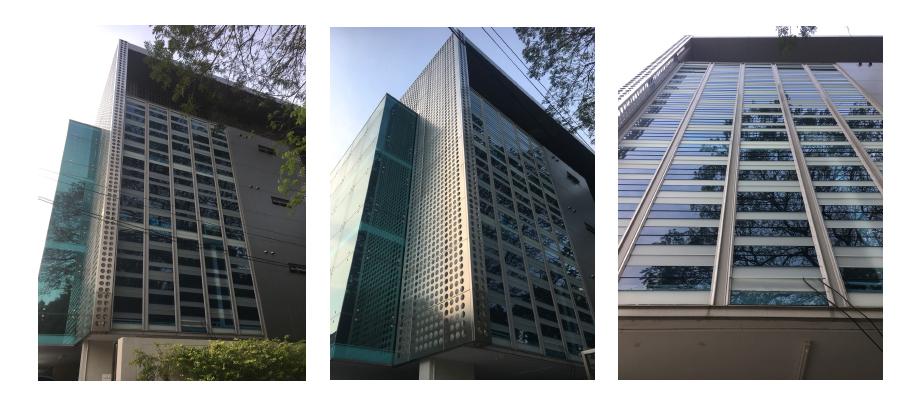 ตึกสำนักงาน ดีไซน์ทันสมัย พร้อมประหยัดพลังงาน ด้วยการใช้บานเกล็ดเพิ่มเเสง และอากาศภายในอาคาร